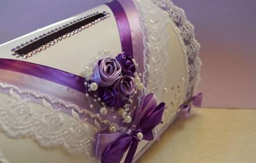 Как оформляется коробочка для денег на свадьбу