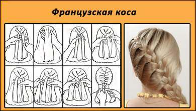 Как сделать французский косу