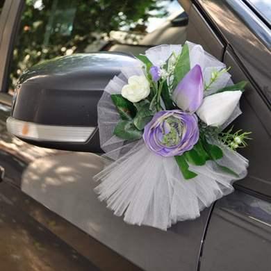 Как сделать украшение свадебных машин фото 376