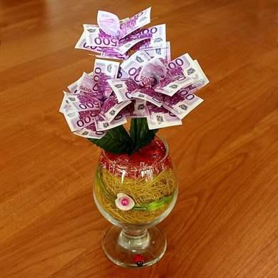 Торт из денег на свадьбу своими руками