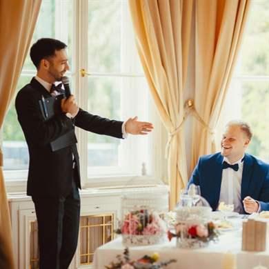 Поздравление на свадьбу про ноль и единицу