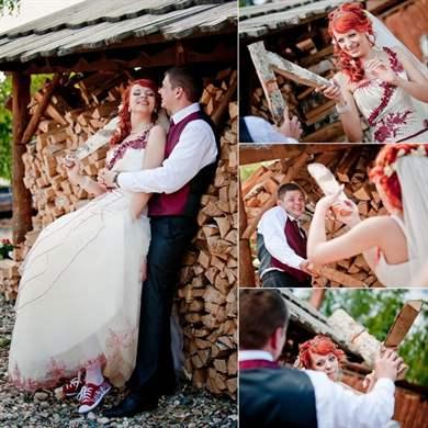 Сценарий деревянной свадьбы для тамады