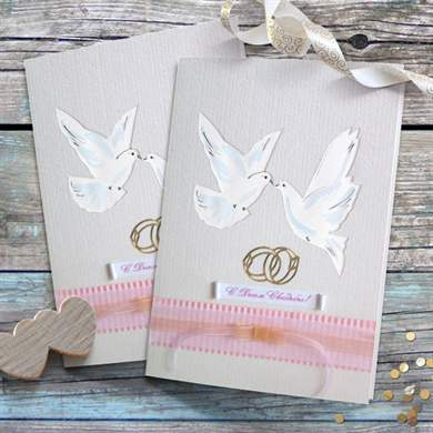 Легкие открытки на свадьбу 73