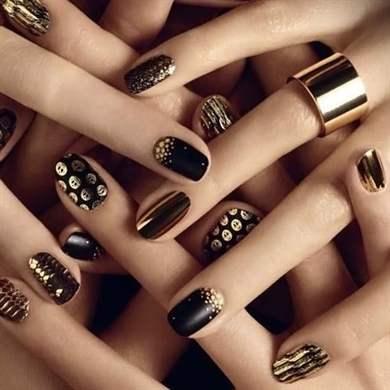 Новый красивый дизайн ногтей