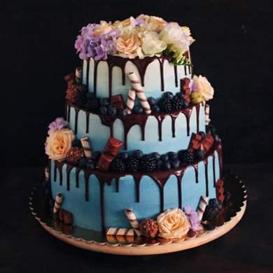 2-х этажный торт своими руками 92