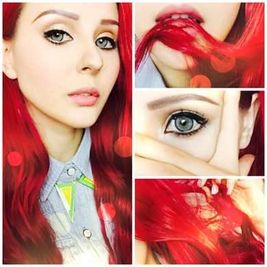 Как сделать кукольный макияж глаз