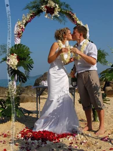 Сценарий на свадьбу для жениха и невесты