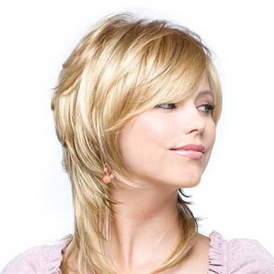 Женская стрижка лесенка на короткие волосы (50 фото) — С челкой или без