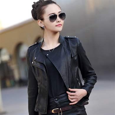 Фото модных кожаных пиджаков