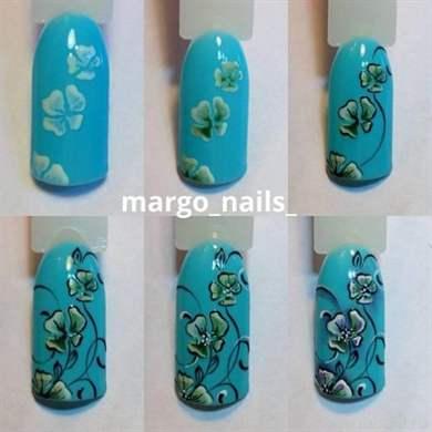 Дизайны ногтей новинки пошагово