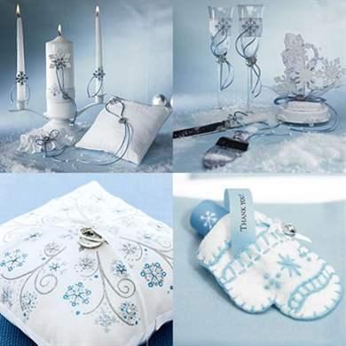 Свадебные аксессуары зимние