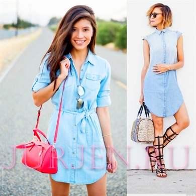 Купить летние платье рубашка