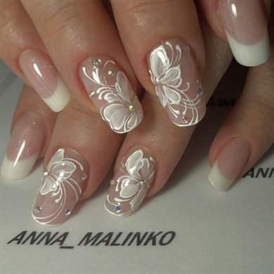 фото ногтей дизайн на свадьбу