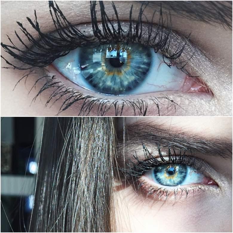 Как сделать глаза еще голубее в домашних  275