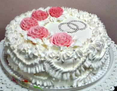 Торт на золотую свадьбу: красивые и прикольные идеи с фото