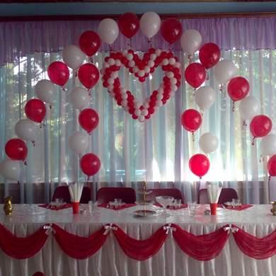 Украсить зал для свадьбы своими руками недорого