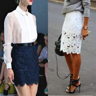 Юбка и блузка вместе