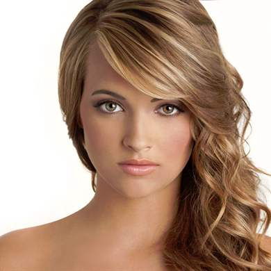 Короткі кучеряве волосся