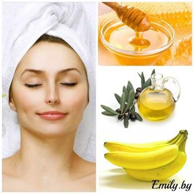 Рецепт маски для лица из банана