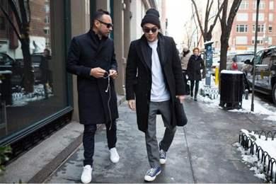 Raincoat sneakers