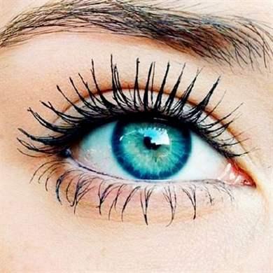 Как сделать красивые глаза только черной тенями