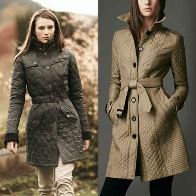 куртки женские стеганые осень 2016 фото