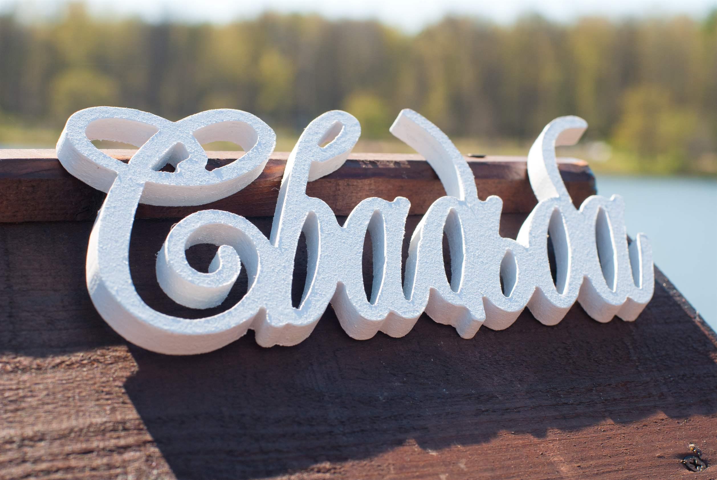Свадебные надписи из фанеры своими руками 85