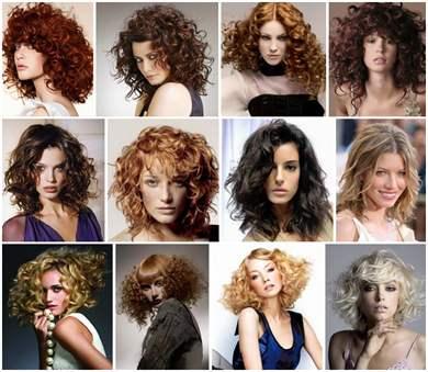 Прически на средние волосы кучерявые