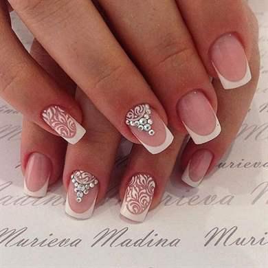 Свадебный дизайн ногтей фото новинки