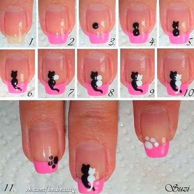 Самые простые дизайны ногтей фото