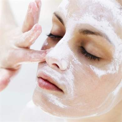 Чистка лица в домашних условиях с хлористым