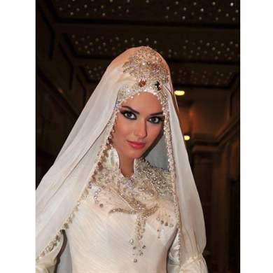 мусульманские свадебные прически видео