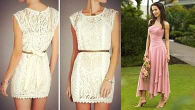 В каком платье пойти на свадьбу летом