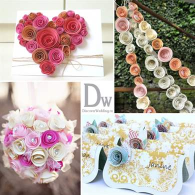 Делаем своими руками цветы на свадьбу своими руками