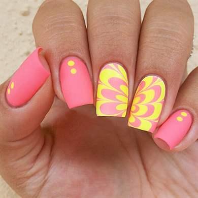 Ногти квадратной формы дизайн