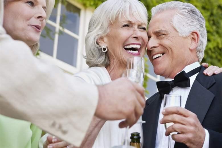 Поздравление на свадьбу взрослой паре