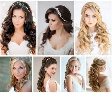 Причёски на длинные волосы для подружек невесты