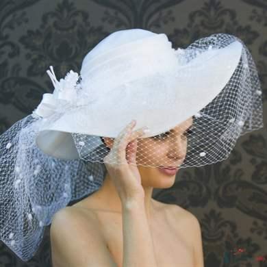 Шляпки для невест своими руками 738