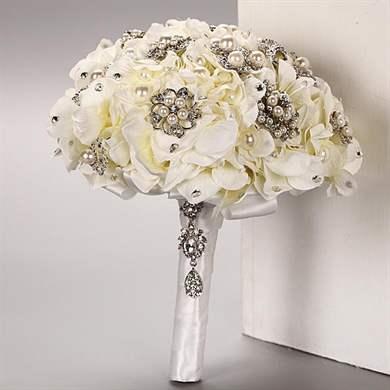 Искусственные свадебные букеты - красивые букеты на долгие годы