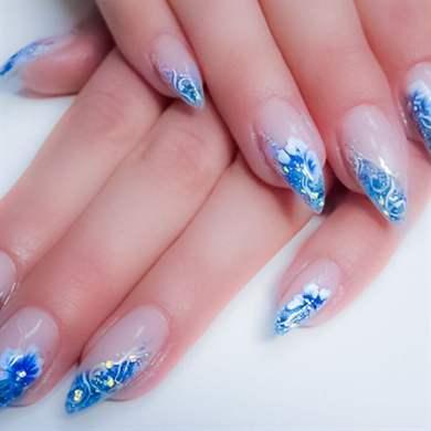 Дизайн миндалевидных ногтей 2016 новинки весна