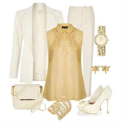 Одежда Белое Золото