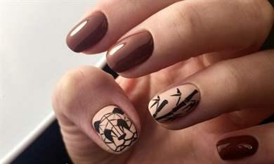 Геометрический маникюр - фото идей дизайна ногтей - Best 32