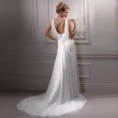 Платья в греческом стиле с открытой спиной