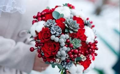 Цветок для зимы своими руками