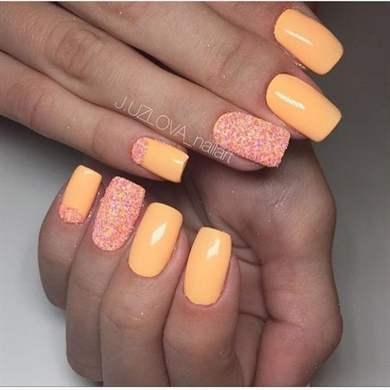 Мармелад ногти дизайн фото
