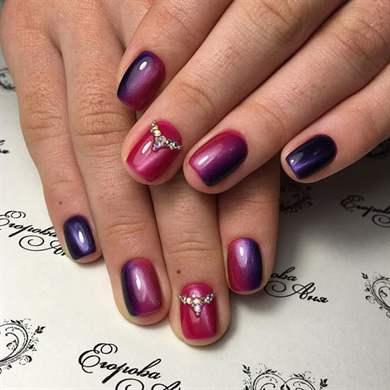 Маникюр: дизайн на короткие ногти и на очень короткие
