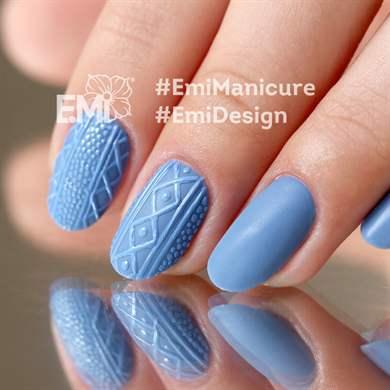Вязаный дизайн ногтей: вязка на ногтях косичка