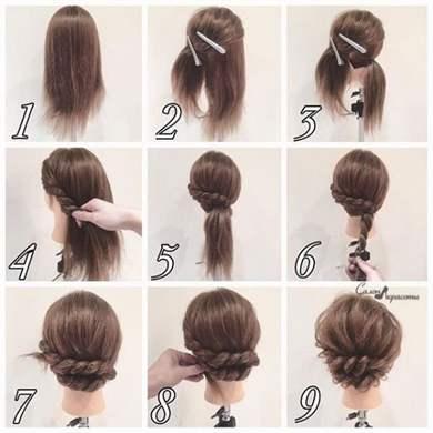 Как красиво накрутить волосы на плойку фото