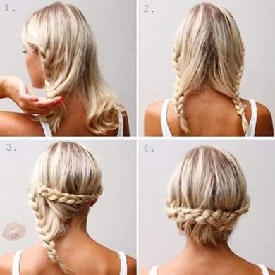 Что можно сделать с волосами до плеч