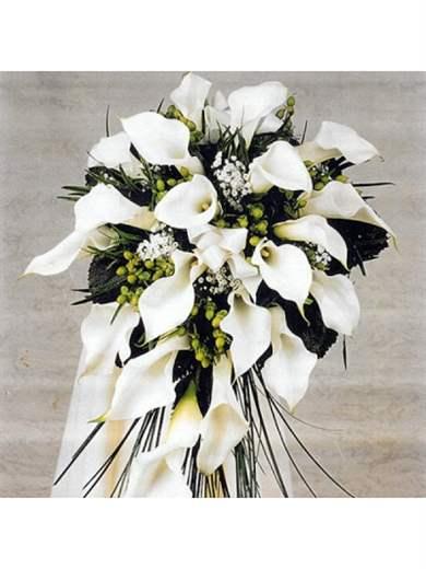 Букет невесты из маленьких каллы фото, купить в нижневартовске цветы